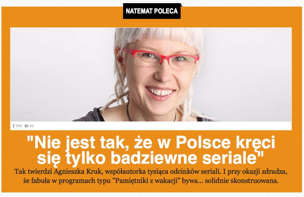 naTemat Agnieszka Kruk